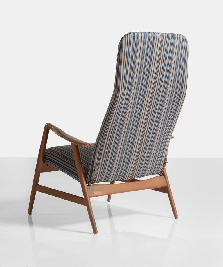Mid-20th Century Pair of Kontour Armchairs in Nylon by Alf Svensson, Germany, circa 1950 For Sale