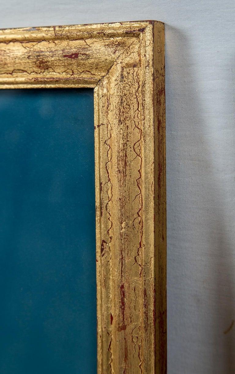 Paint Pair of Korean Ancestral Eglomise Portraits For Sale