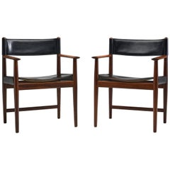 Pair of Kurt Østervig Dining Chairs for Sibast, Denmark, 1960s