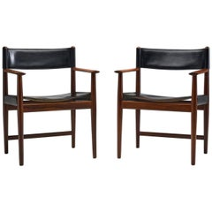 Pair of Kurt Østervig Dining Chairs for Sibast, Denmark, 1960s