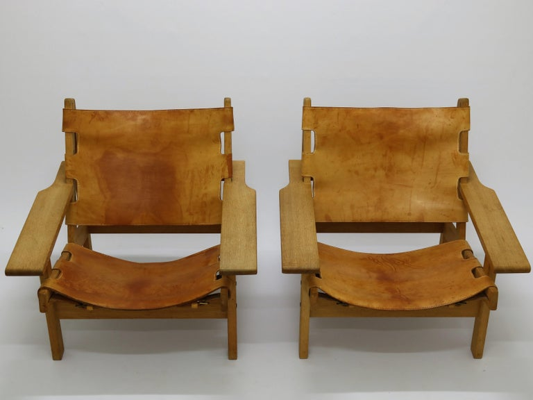 Pair of Kurt Østervig Hunting Chairs For Sale 3