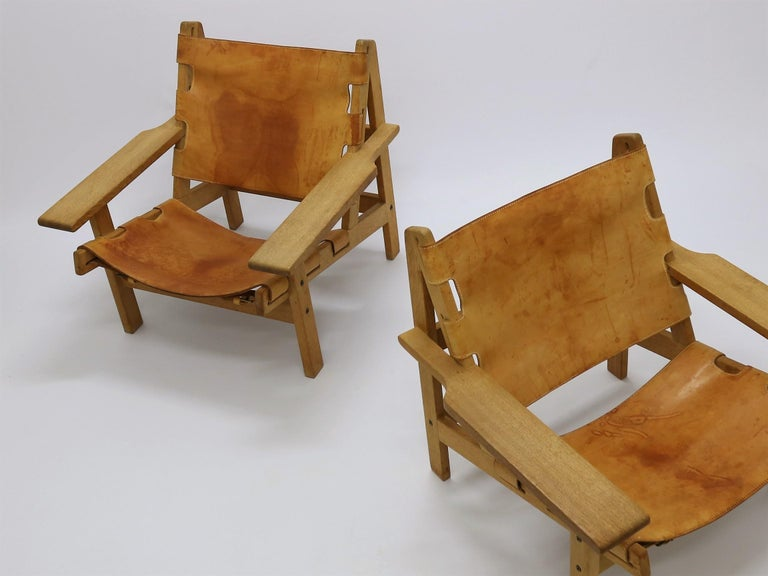 Danish Pair of Kurt Østervig Hunting Chairs For Sale