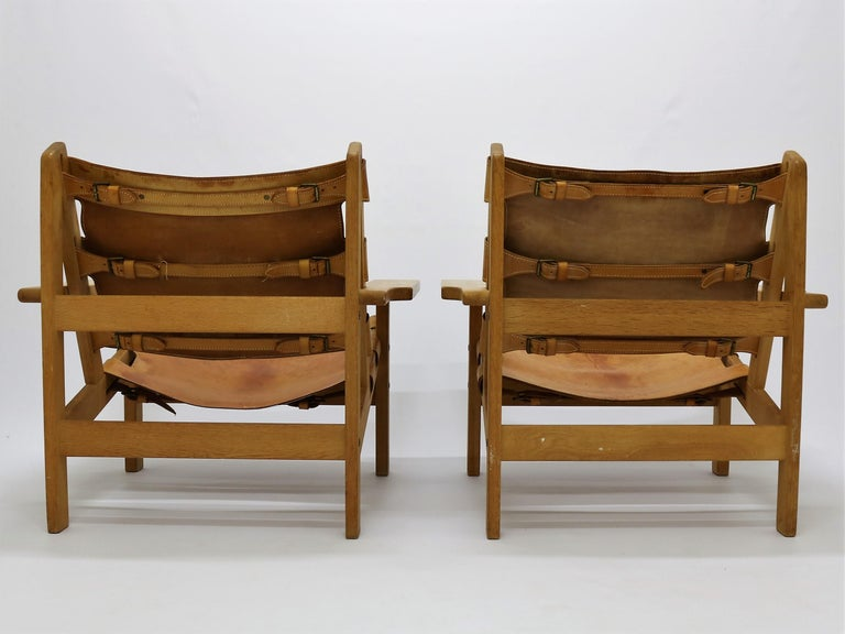Pair of Kurt Østervig Hunting Chairs For Sale 1