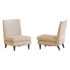 Pair of L-Shaped Armchair, Joaquim Tenreiro, 1960s, Midcentury Brazilian Modern