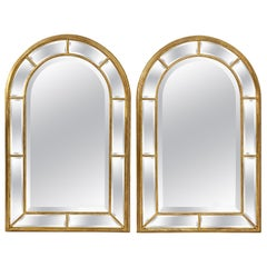Pair of LaBarge Giltwood Mirrors, Made in Italy, circa 1970s