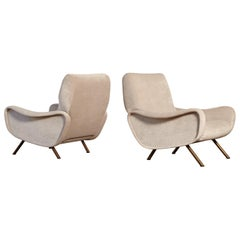 Pair of Lady Chairs Designed by Marco Zanuso, Italy