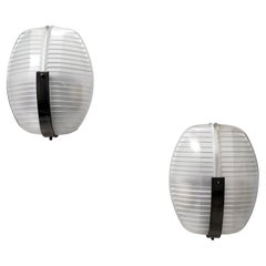 Pair of Lambda Sconces by Vico Magistretti for Artemide, Italy 1961