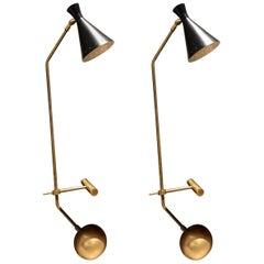 Pair of Lamberti & Co. Libra-Lux Table Lamps