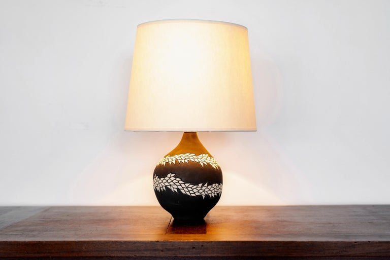 American Pair of Lamps by Jennifer Nocon For Sale