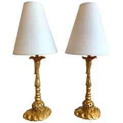 Pair of Lamps by Mathias for Fondica, France, 1990s