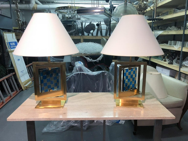 Italian Pair of Lamps by Roberto Rida, Italy, 2016 For Sale