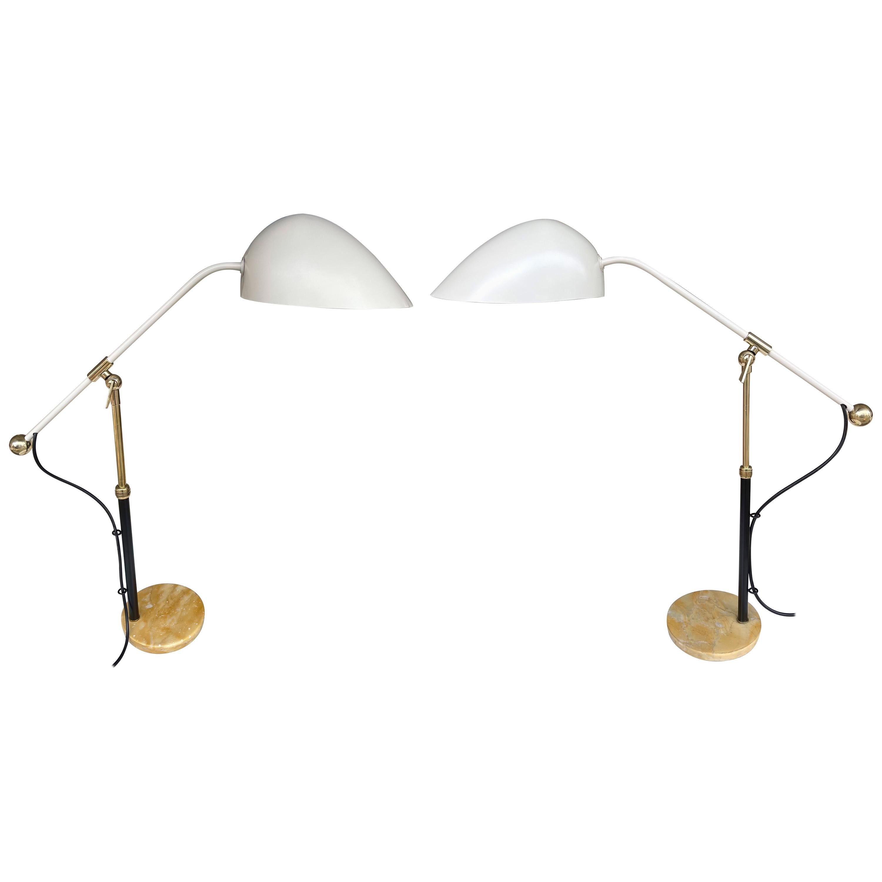 Pair of Lamps M5023 by Angelo Brotto for Esperia, Italy, 1950s
