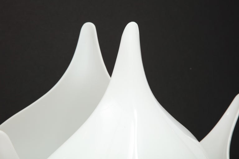 Pair of Large 1980s Rougier Lamps For Sale 1