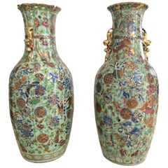 Pair of Large 19th Century Chinese Vases