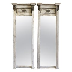 Neoclassical Floor Mirrors and Full-Length Mirrors