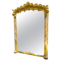 Pair of Large Antique French Mirrors, Sold as Pair