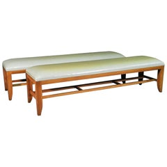 Pair of Large Benches