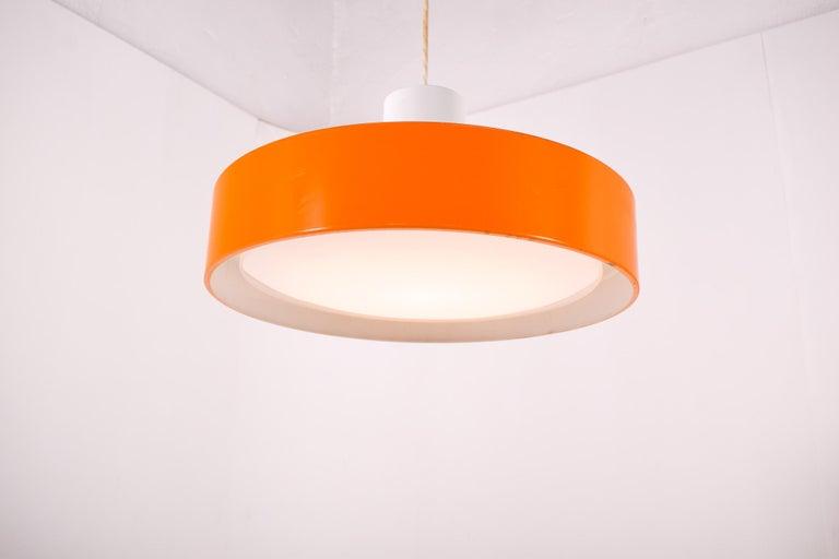 Danish Pair of Large 'Blagard' Pendant Lamp by Karen Ebbe for Fog & Mørup