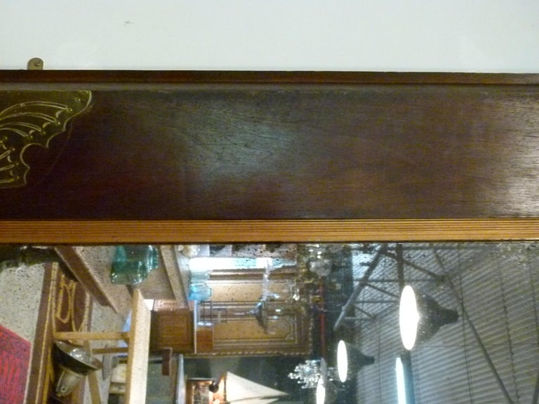 Pair of Large Early 20th Century Wall Mirrors For Sale 1