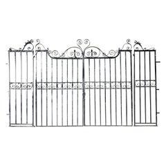 Pair of Large Garden Gates