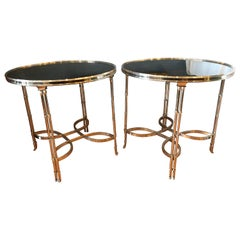 Pair of Large Guéridon Tables