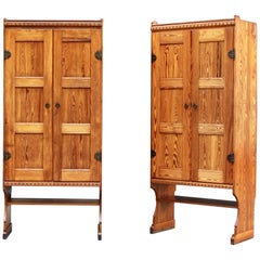 Pair of Large Important Cabinets by Martin Nyrop & Rud. Rasmussen for City Hall