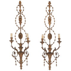 Pair of Large Italian 19th Century Wall Lights