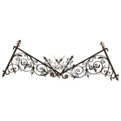 Pair of Large Late 19th Century Wall Candelabra Brackets