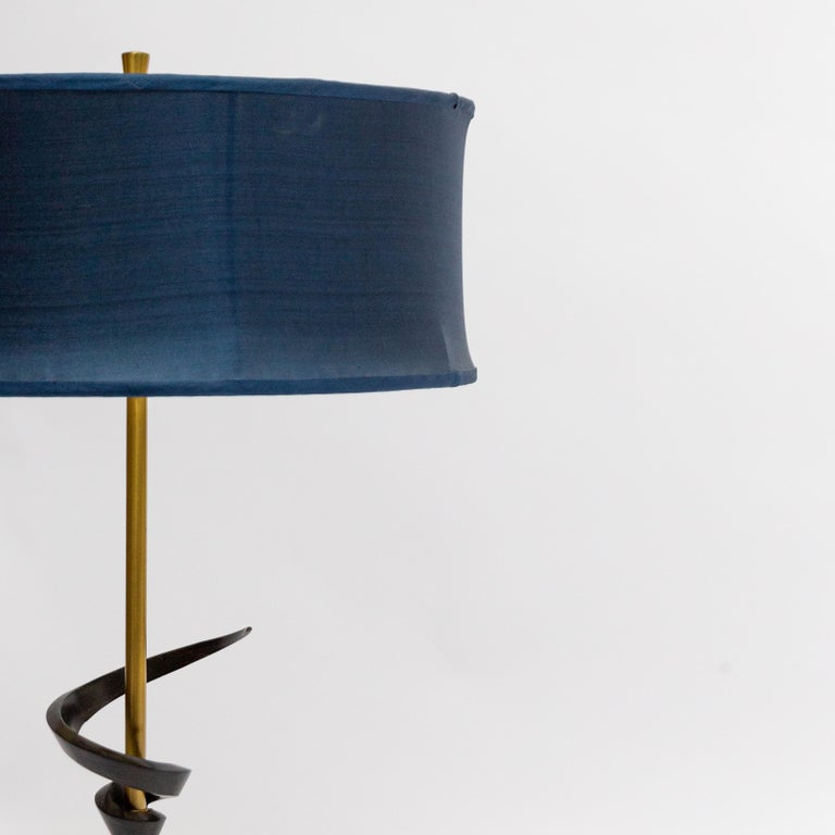 American Pair of Large Rembrandt Table Lamps, 1960s For Sale