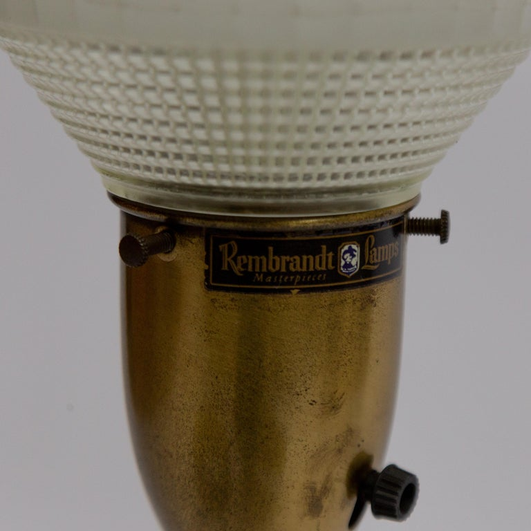 Pair of Large Rembrandt Table Lamps, 1960s For Sale 2