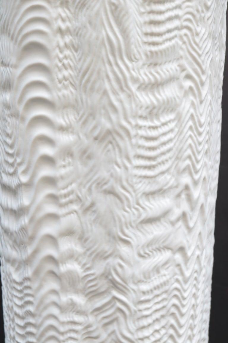 Modern Pair of Large Rosenthal Porcelain Vases For Sale