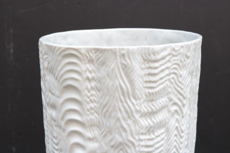 German Pair of Large Rosenthal Porcelain Vases For Sale