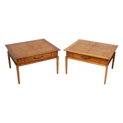 Pair of Large Scale End Tables by Lubberts & Mulder for Tomlinson