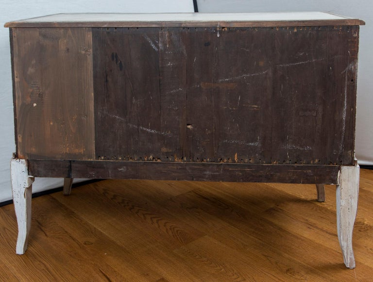 Pair of Large Decorative Scandinavian Style Chests For Sale 8