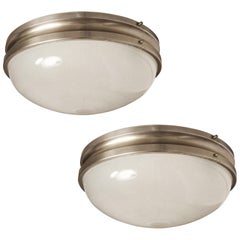 Pair of Large Sergio Mazza 'Sigma' Wall or Ceiling Lights for Artemide, 1960s