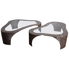Pair of Large Silas Seandel Coffee Tables