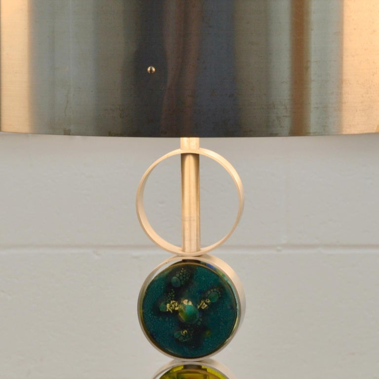 Dutch Pair of Large Table Lamps by RAAK 1970's Attributed to Nanny Still For Sale