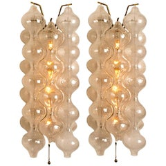Pair of Large Tulipan Wall Lamps/Sconces by J.T. Kalmar 'H 21.2', 1960s