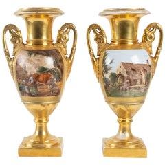 Pair of Large Vases, Empire Period