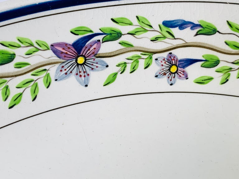 19th Century Pair of Large Wedgwood Bowls Made in England, circa 1820 For Sale