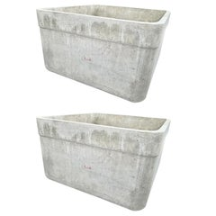 Pair of Large Willy Guhl Box Planters