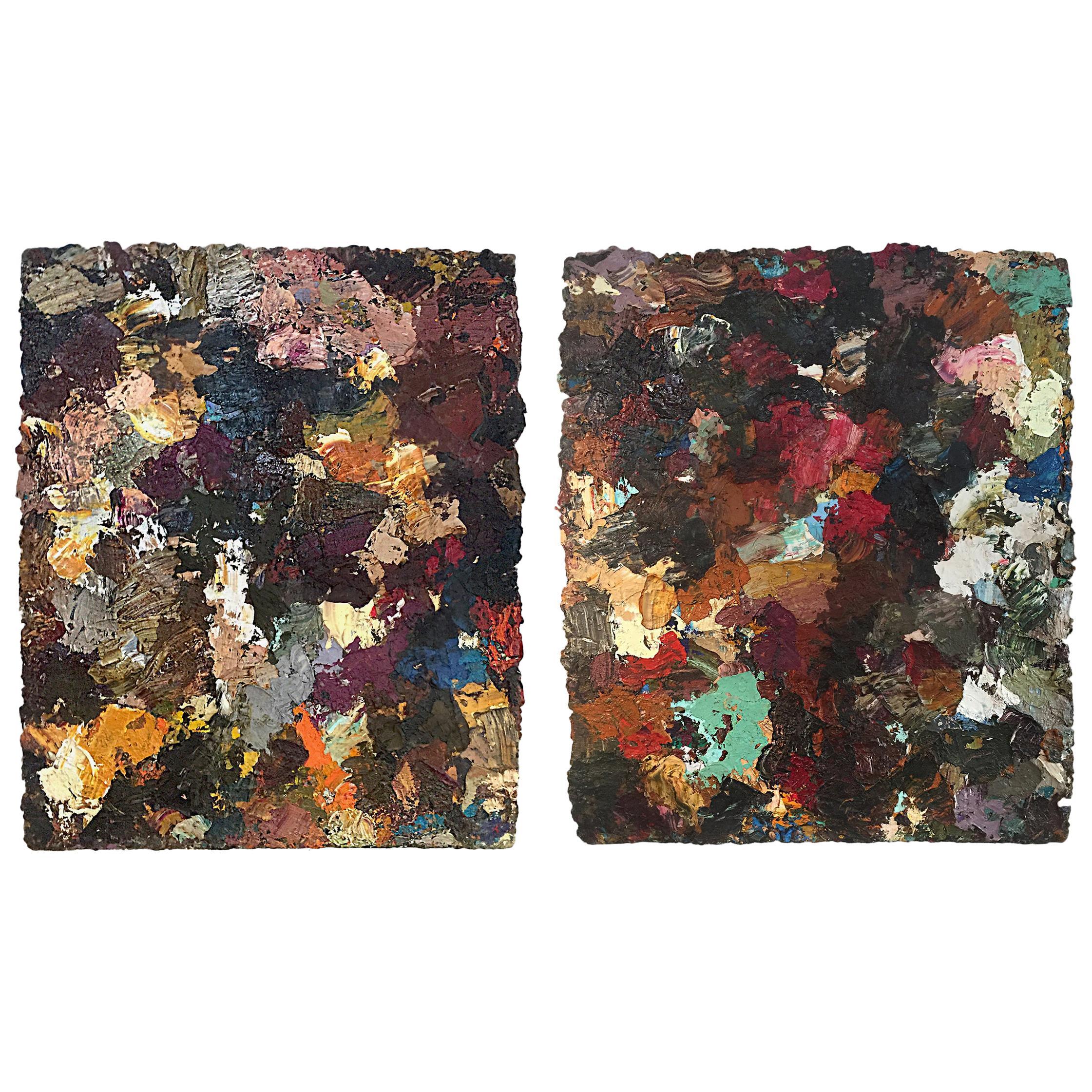 Pair of Lars Dan Paintings