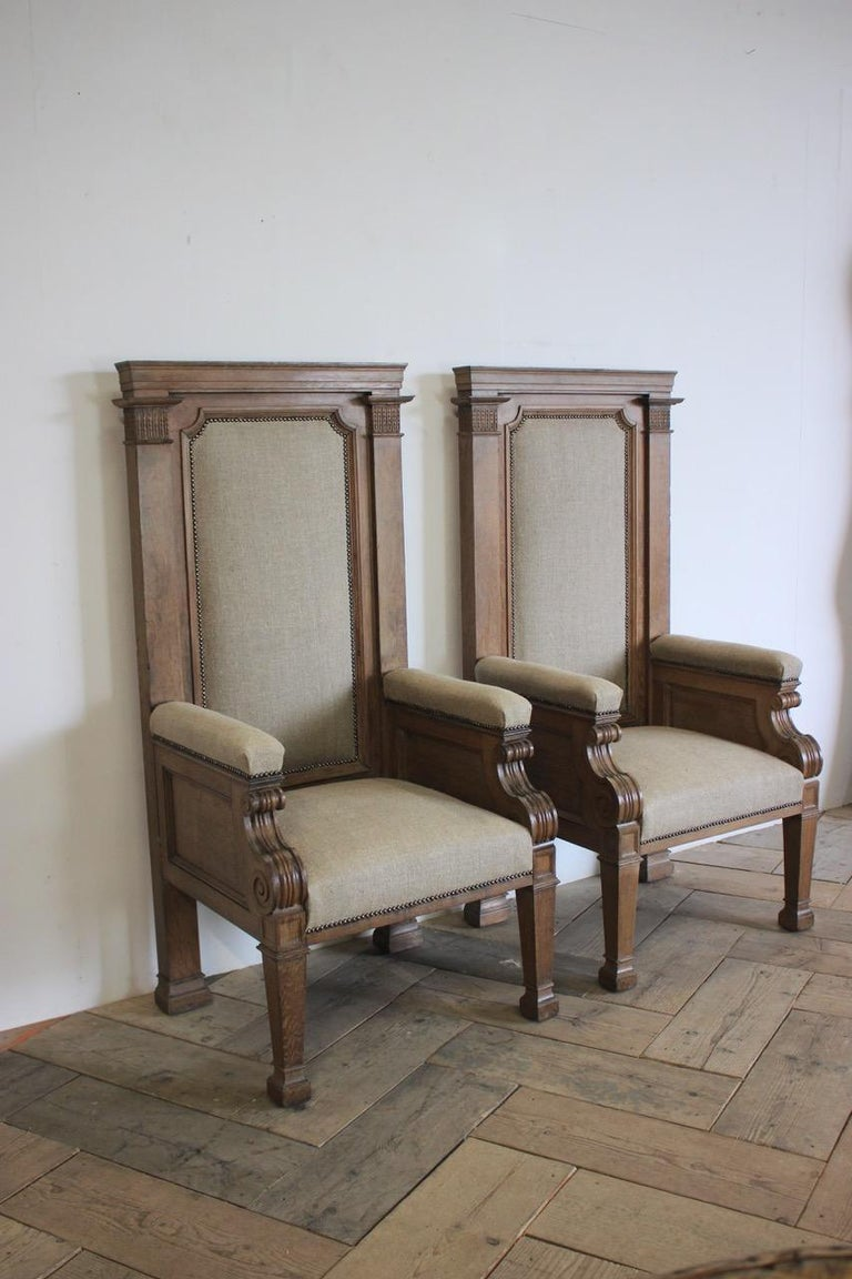 Pair of Late 19th Century English Chairs For Sale 7