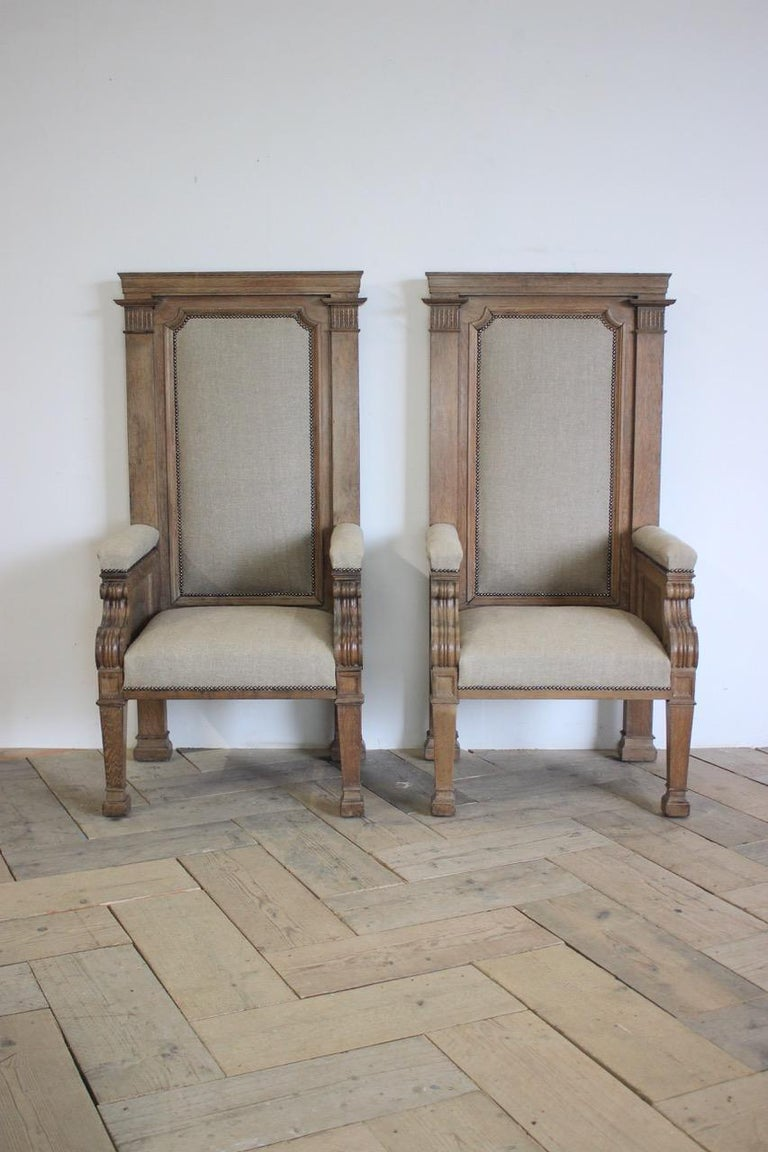 Pair of Late 19th Century English Chairs For Sale 4