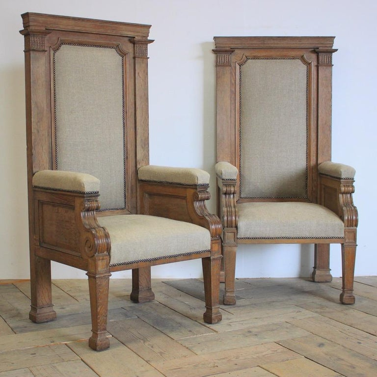 Pair of Late 19th Century English Chairs For Sale 6