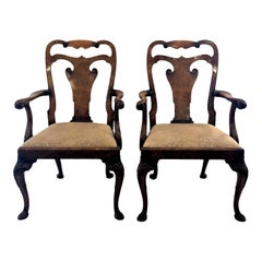 Pair of Late 19th Century English Armchairs