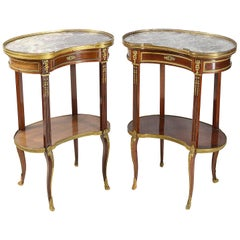 Pair of Late 19th Century French Side Tables
