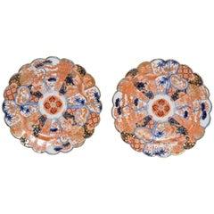 Pair of Late 19th Century Imari Plates