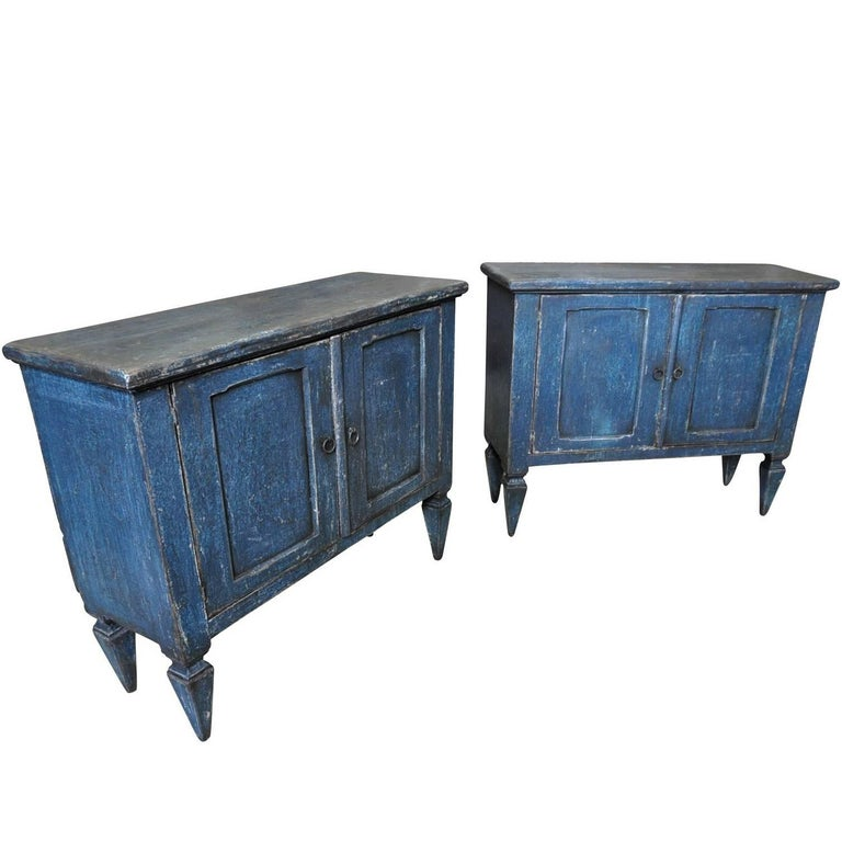 Pair of Late 19th Century Spanish Buffets