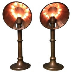 Pair of Late 19th Century Students Candle Stands by Miller's of London